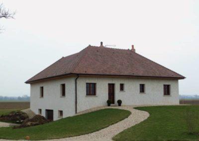 Maison neuve Tuile Imerys Bourgogne Longue