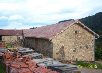 Tuile Oméga 10 coloris vieux toit Imerys